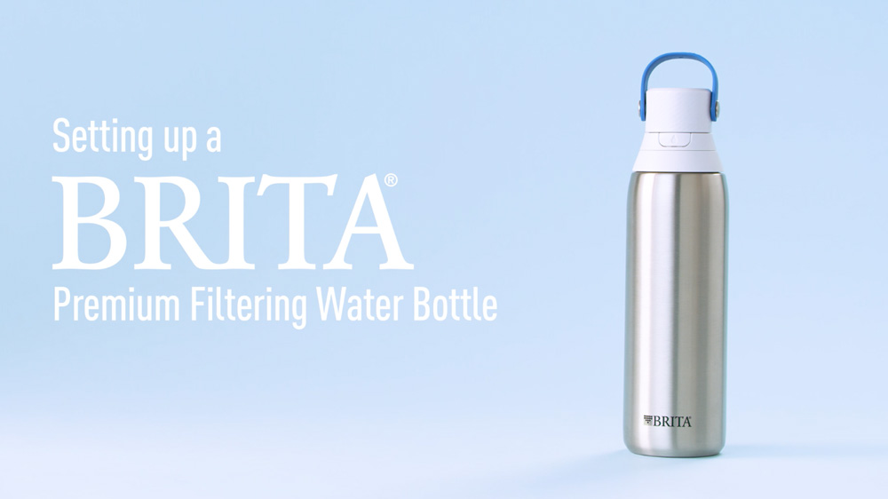 Setting up your Premium Filtering bottle